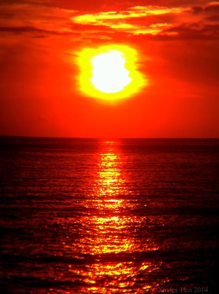 Sortida de sol a Empúries