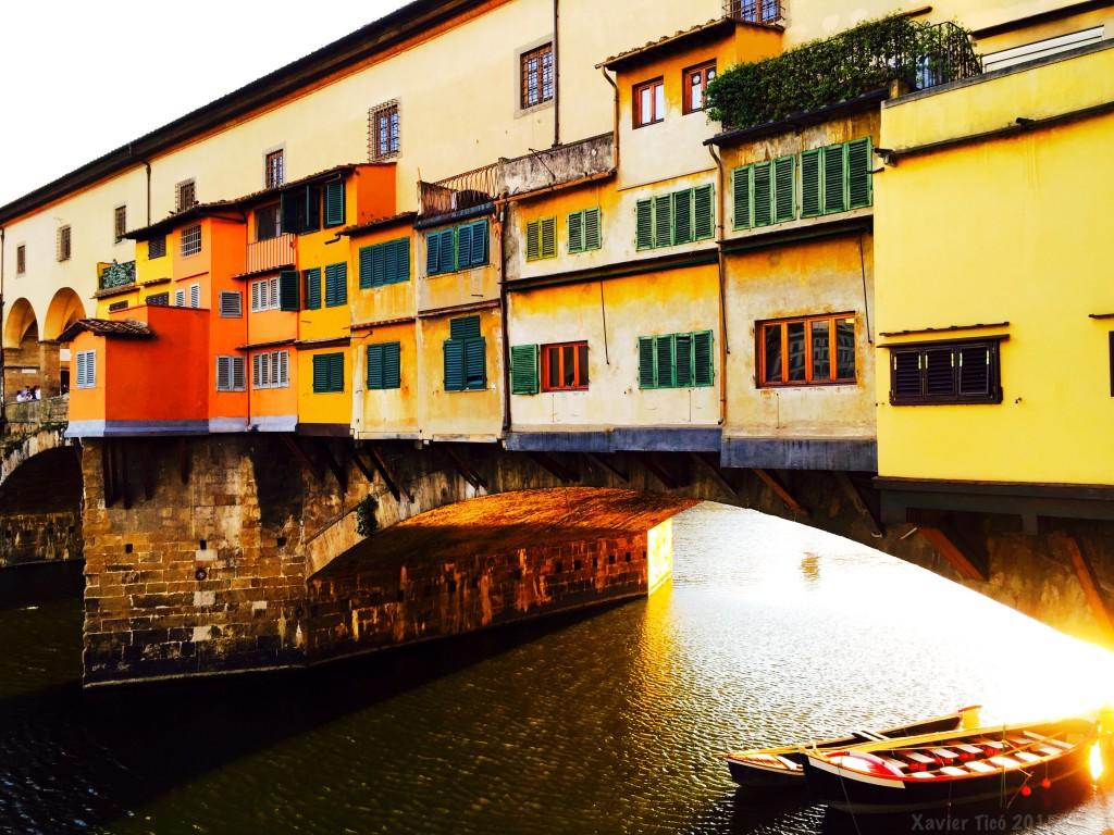Ponte vecchio i barques