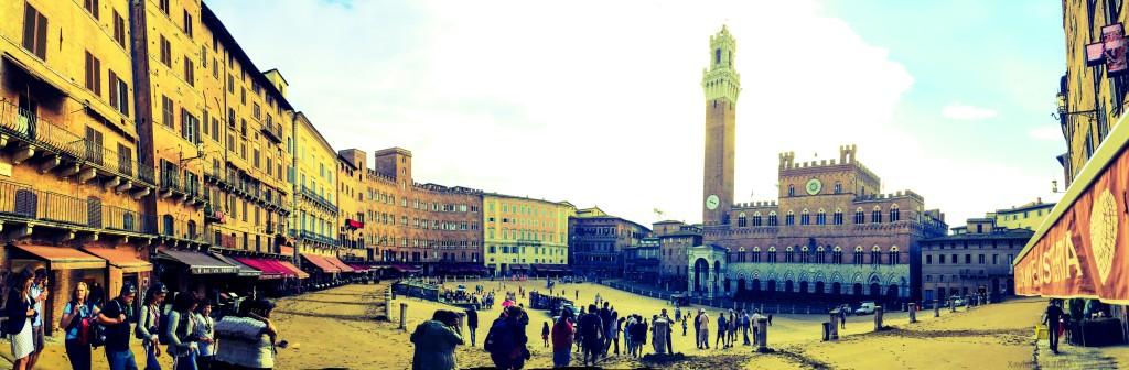 Siena poc després del Palio