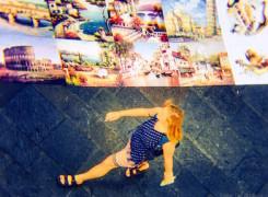 Turista i art de carrer
